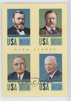 Ulysses S. Grant, Theodore Roosevelt, Harry S. Truman, Dwight D. Eisenhower