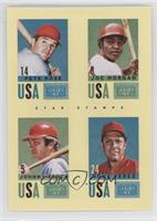 Pete Rose, Joe Morgan, Johnny Bench, Tony Perez