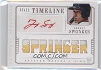 George Springer /25