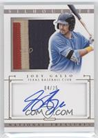 Distributed in 2015 National Treasures - Joey Gallo /25