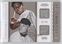 Elston Howard, Roger Maris /49