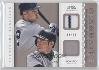 Derek Jeter, Ichiro Suzuki /99