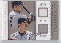 Derek Jeter, Masahiro Tanaka /99