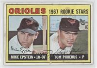 1967 Rookie Stars (Mike Epstein, Tom Phoebus) [Good to VG‑EX]