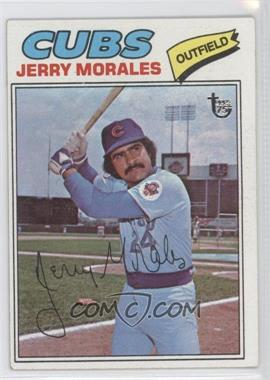2014 Topps - 75th Anniversary Buybacks #1977-639 - Jerry Morales [Good to VG‑EX]
