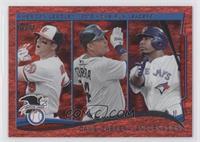 AL Home Run Leaders (Chris Davis, Miguel Cabrera, Edwin Encarnacion)