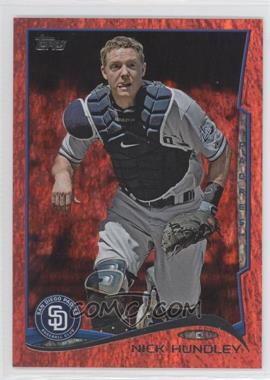 2014 Topps - [Base] - Red Hot Foil #37 - Nick Hundley