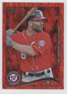 2014 Topps - [Base] - Red Hot Foil #455 - Danny Espinosa