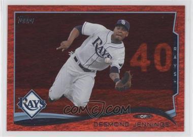 2014 Topps - [Base] - Red Hot Foil #582 - Desmond Jennings