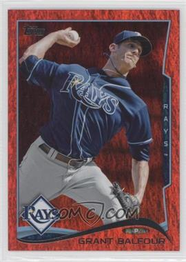 2014 Topps - [Base] - Red Hot Foil #656 - Grant Balfour