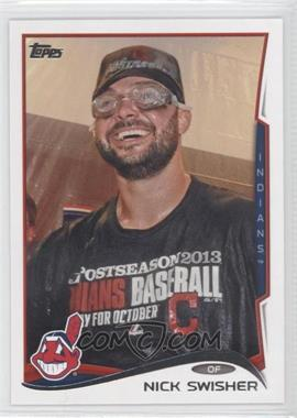 2014 Topps - [Base] #198.2 - Nick Swisher (Postseason Celebration)