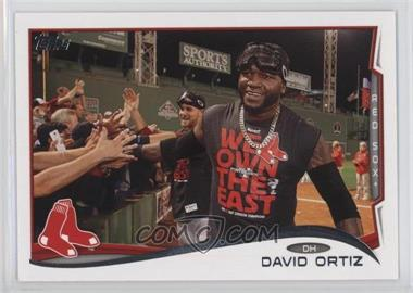 2014 Topps - [Base] #475.3 - David Ortiz (Goggles on Head)