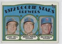 Brewers Rookie Stars (Jerry Bell, Darrell Porter, Bob Reynolds) [Good to&n…
