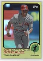 Juan Gonzalez /199