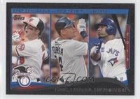 AL Home Run Leaders (Chris Davis, Miguel Cabrera, Edwin Encarnacion) /63