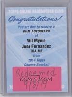 Wil Myers, Jose Fernandez [REDEMPTION Being Redeemed]
