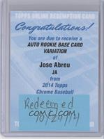Jose Abreu [REDEMPTION Being Redeemed]