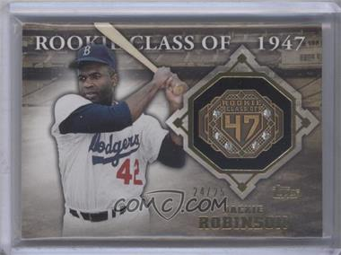 2014 Topps Class Rings Gold Gems #CR-18 - Jackie Robinson /25