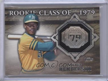 2014 Topps Class Rings Silver #CR-14 - Rickey Henderson