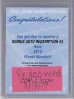 Rookie Auto Redemption #3 [REDEMPTION Being Redeemed]