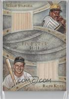 Willie Stargell, Ralph Kiner /10