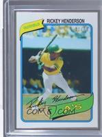 Rickey Henderson /99