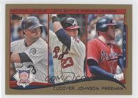 NL Batting Average Leaders (Michael Cuddyer, Chris Johnson, Freddie Freeman) /2…
