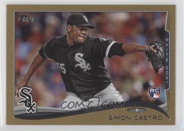 2014 Topps Gold #592 - Simon Castro /2014