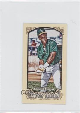 2014 Topps Gypsy Queen - [Base] - Mini #200.2 - Rickey Henderson (Green Jersey)
