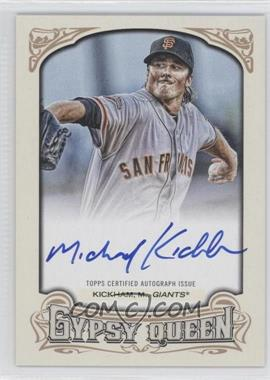 2014 Topps Gypsy Queen Autographs #GQA-MK - Mike Kickham