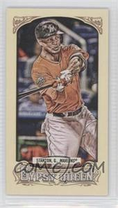 2014 Topps Gypsy Queen Mini #165.2 - Giancarlo Stanton (Orange Jersey)