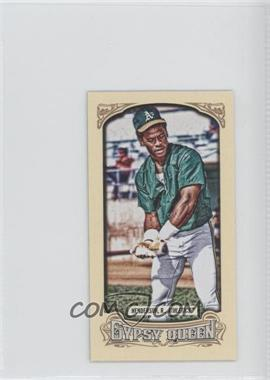 2014 Topps Gypsy Queen Mini #200.2 - Rickey Henderson (Green Jersey)