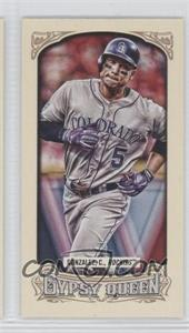2014 Topps Gypsy Queen Mini #207.1 - Carlos Gonzalez (Running)