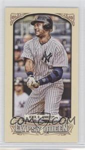 2014 Topps Gypsy Queen Mini #25.2 - Derek Jeter (Logo on Jersey Visible)