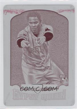 2014 Topps Gypsy Queen Printing Plate Magenta #13 - Xander Bogaerts /1