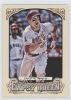 Mike Trout (Running, Mouth Open)
