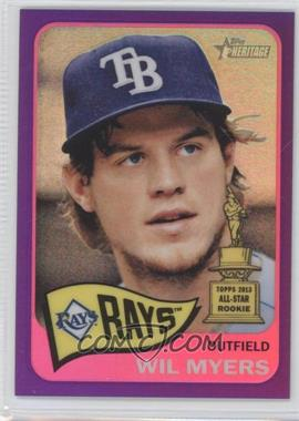 2014 Topps Heritage - [Base] - Chrome Purple Refractor #THC-446 - Wil Myers