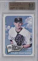 Tyler Chatwood (Blue Frame, Name in White) [BGS 9.5]