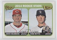 2014 Rookie Stars (David Holmberg, Chad Bettis)