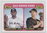 2014 Rookie Stars (Arquimedes Caminero, Kris Johnson)