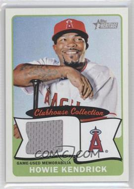 2014 Topps Heritage - Clubhouse Collection Relics #CCR-HK - Howie Kendrick
