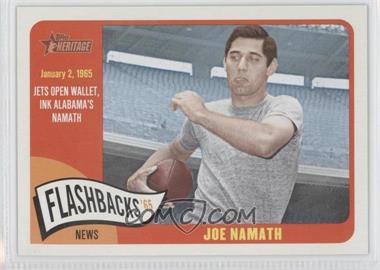 2014 Topps Heritage - News Flashbacks #NF-JN - Joe Namath