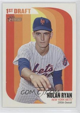 2014 Topps Heritage 1965 1st Draft #65MLB-NR - Nolan Ryan