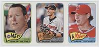 Garrett Richards, Jeremy Hefner, Manny Machado