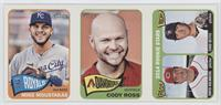 Mike Moustakas, Cody Ross, David Holmberg, Chad Bettis