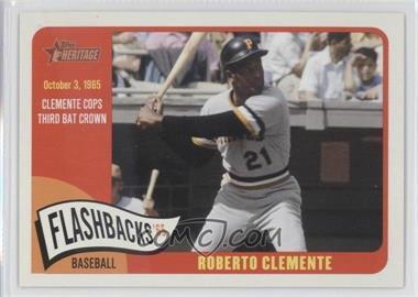 2014 Topps Heritage Baseball Flashbacks #BF-RC - Roberto Clemente