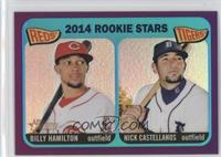 2014 Rookie Stars (Billy Hamilton, Nick Castellanos)