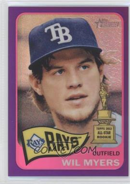 2014 Topps Heritage Chrome Purple Refractor #THC-446 - Wil Myers