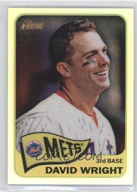 2014 Topps Heritage Chrome Refractor #THC-284 - David Wright /565