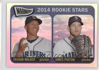 2014 Rookie Stars (Taijuan Walker, James Paxton) /565